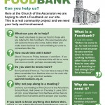 Hall Green Foodbank Flyer