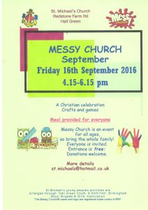 messy church sept